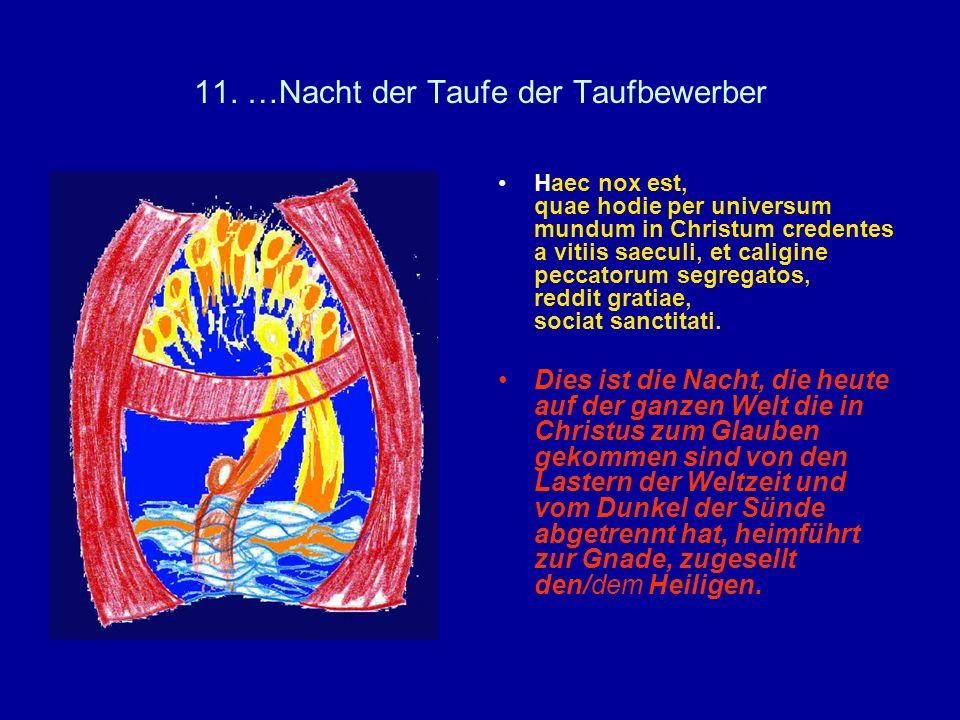 11. …Nacht der Taufe der Taufbewerber