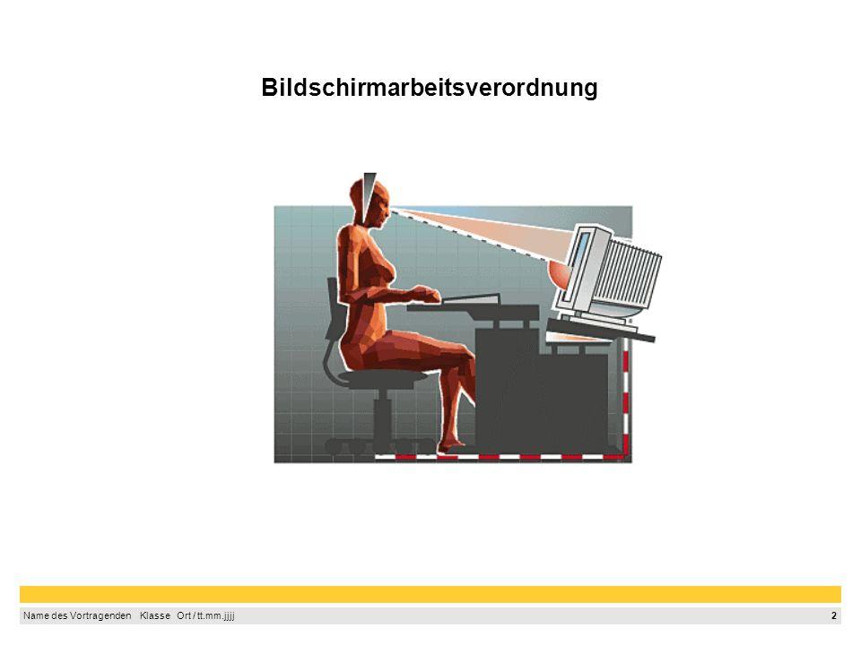 Bildschirmarbeitsverordnung