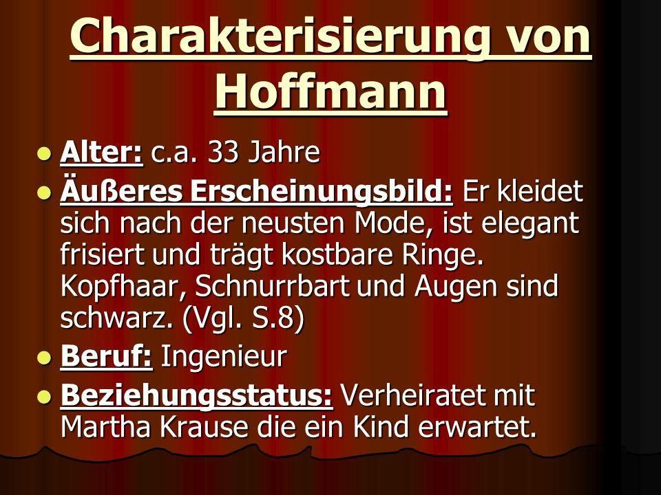 Charakterisierung von Hoffmann