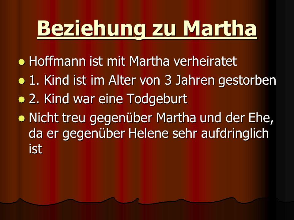 Beziehung zu Martha Hoffmann ist mit Martha verheiratet