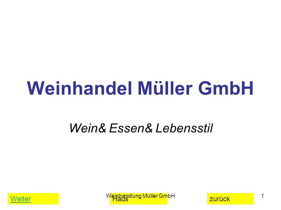 Weinhandel Müller GmbH