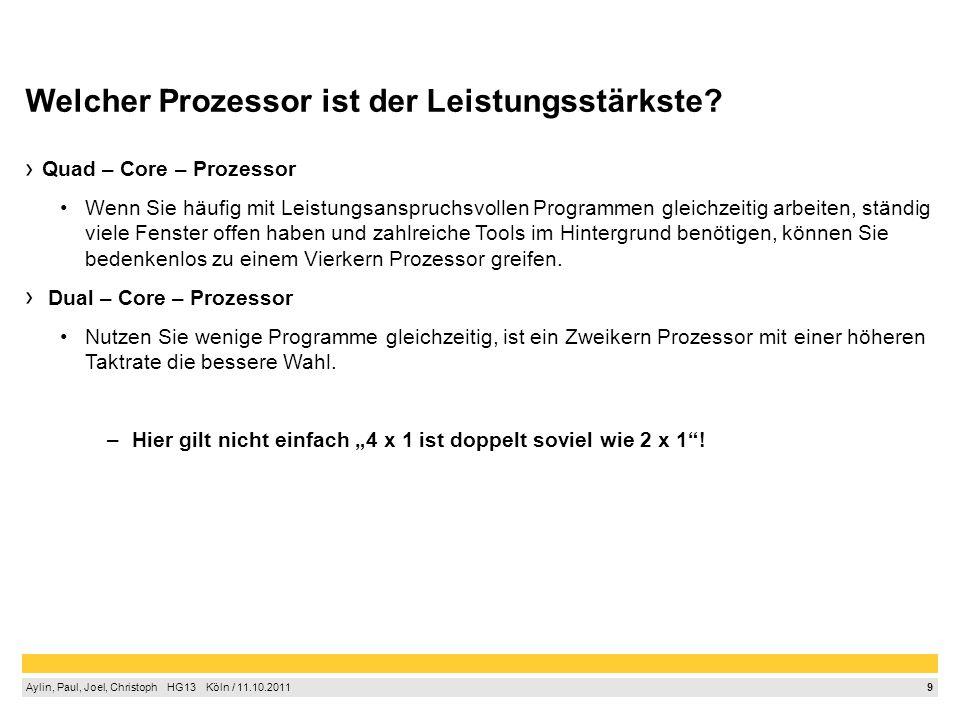Welcher Prozessor ist der Leistungsstärkste