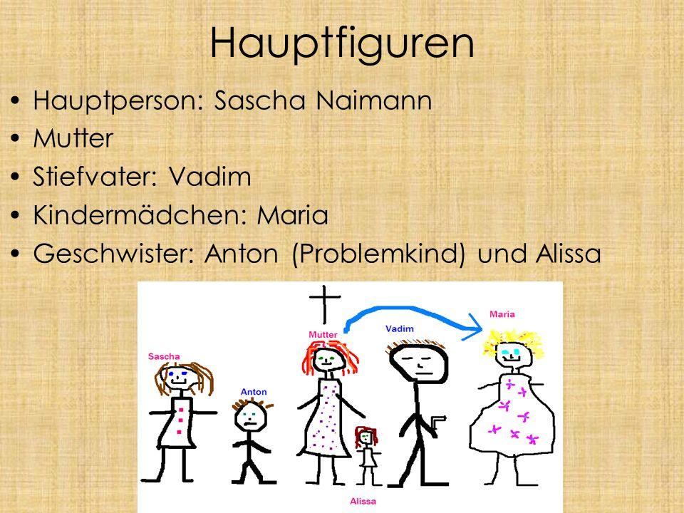 Hauptfiguren Hauptperson: Sascha Naimann Mutter Stiefvater: Vadim