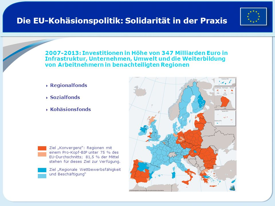 Die EU-Kohäsionspolitik: Solidarität in der Praxis