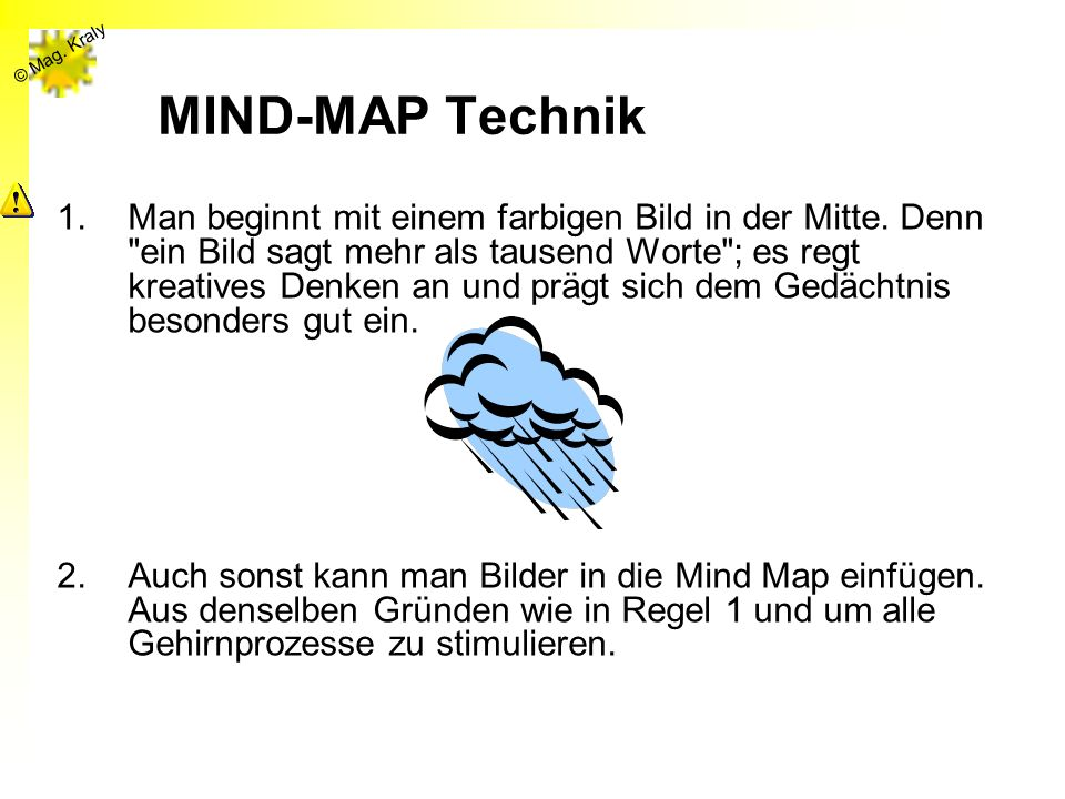 MIND-MAP Technik