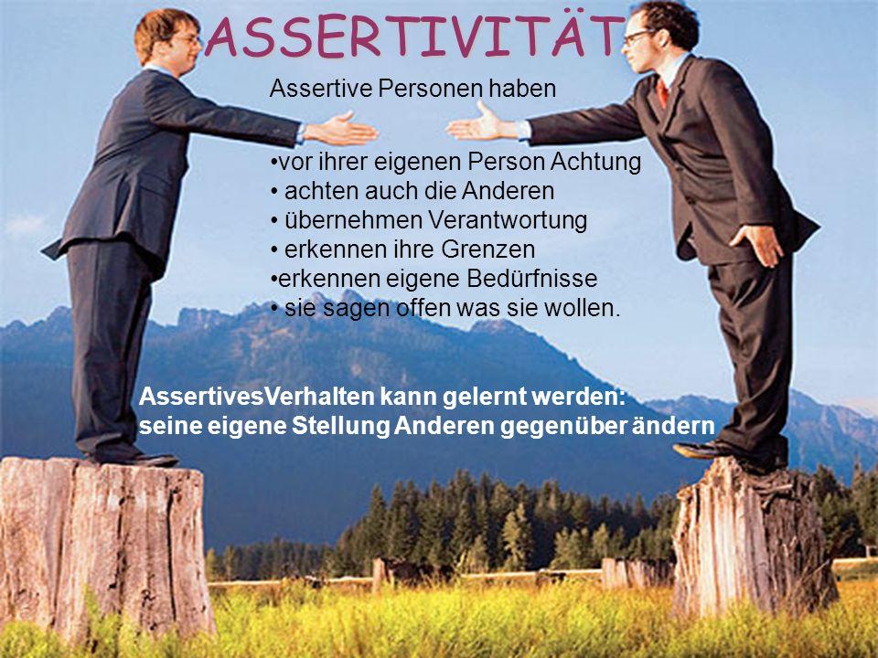 Conceptul de asertivitate