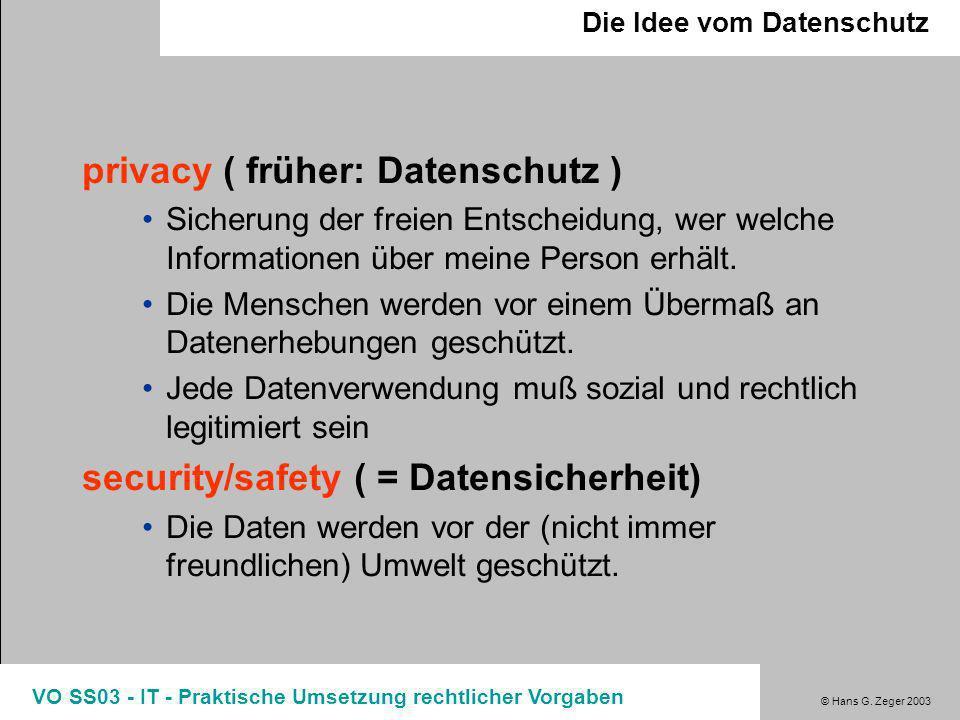 privacy ( früher: Datenschutz )
