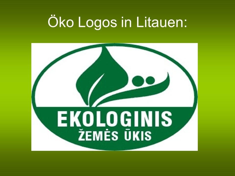 Öko Logos in Litauen: