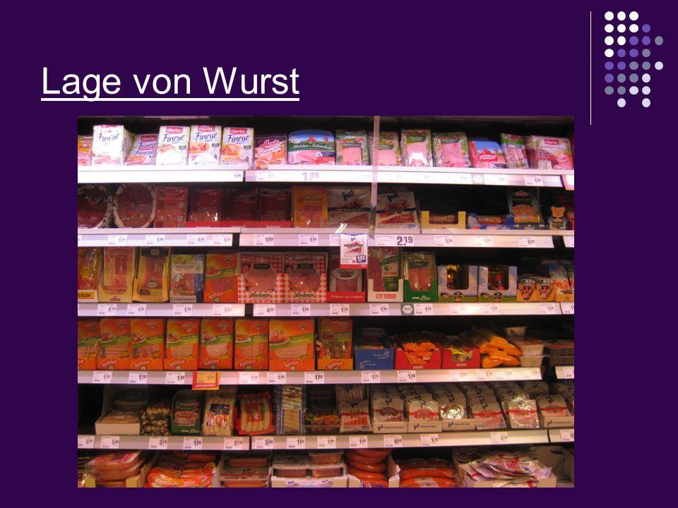 Lage von Wurst