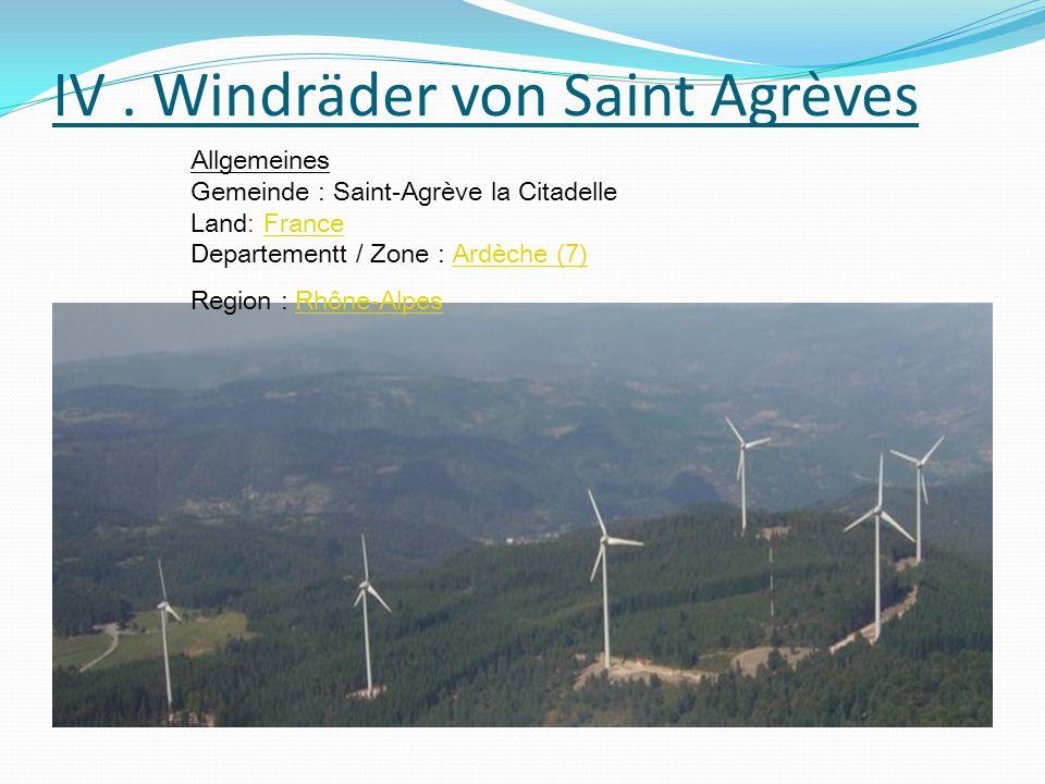 IV. Windräder von Saint Agrèves IV. Windräder von Saint Agrèves IV