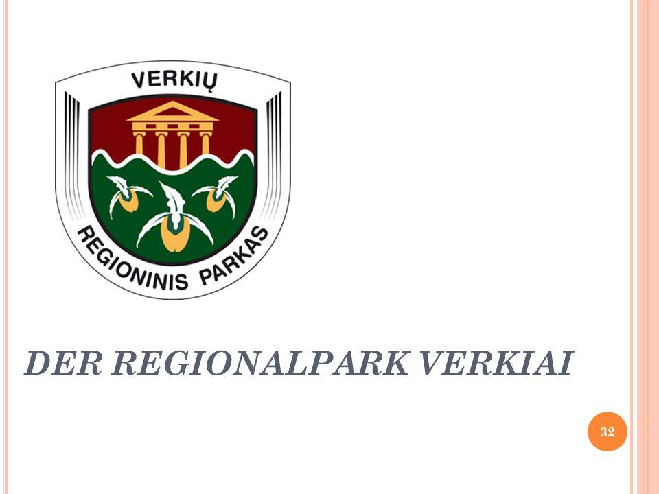 DER REGIONALPARK VERKIAI