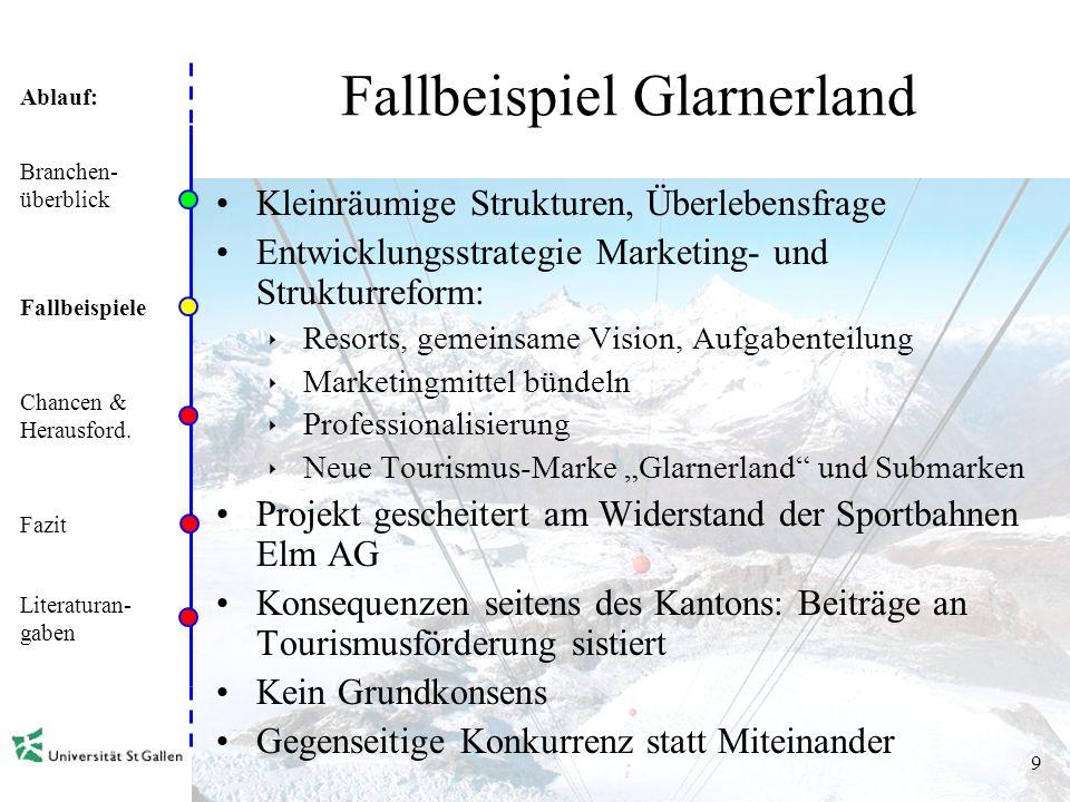 Fallbeispiel Glarnerland