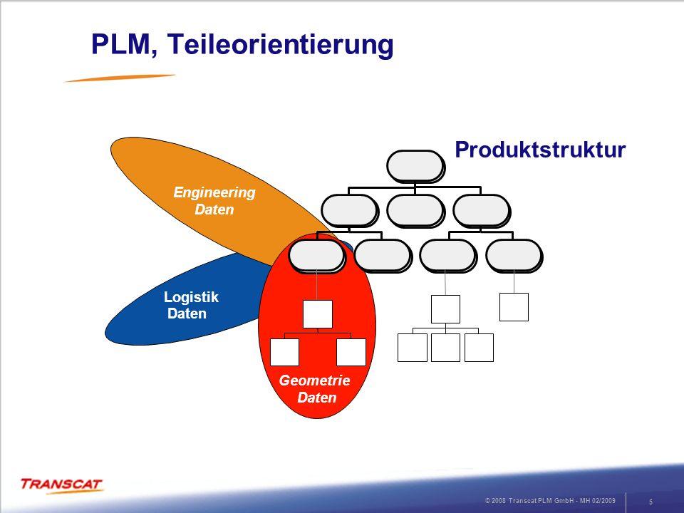 PLM, Teileorientierung