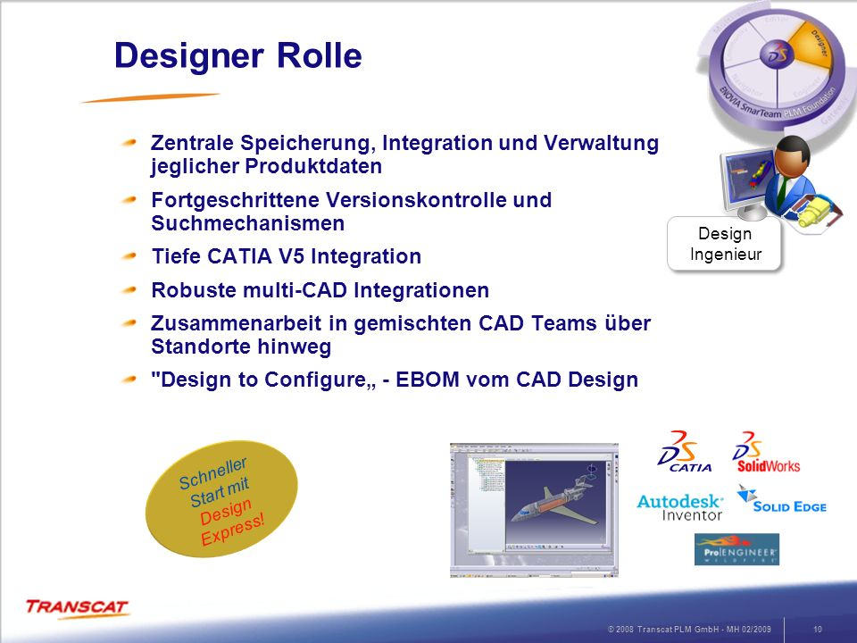 Schneller Start mit Design Express!