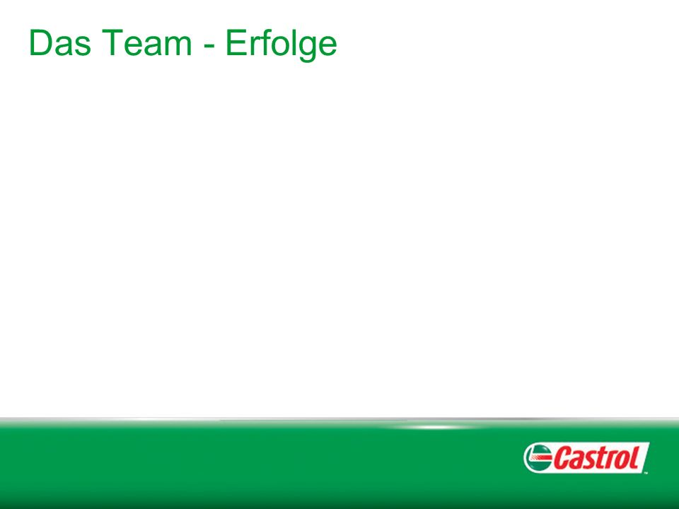 Das Team - Erfolge