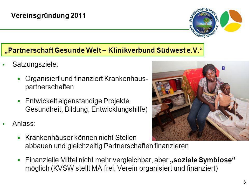 """Partnerschaft Gesunde Welt – Klinikverbund Südwest e.V."