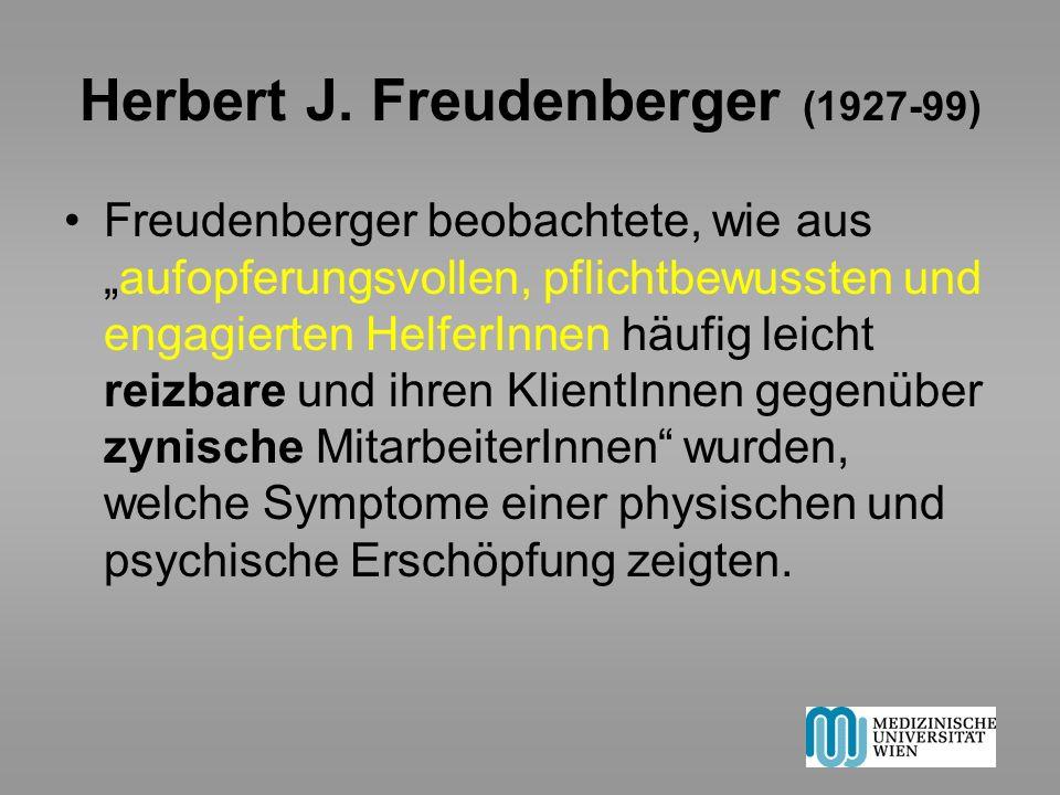 Herbert J. Freudenberger (1927-99)