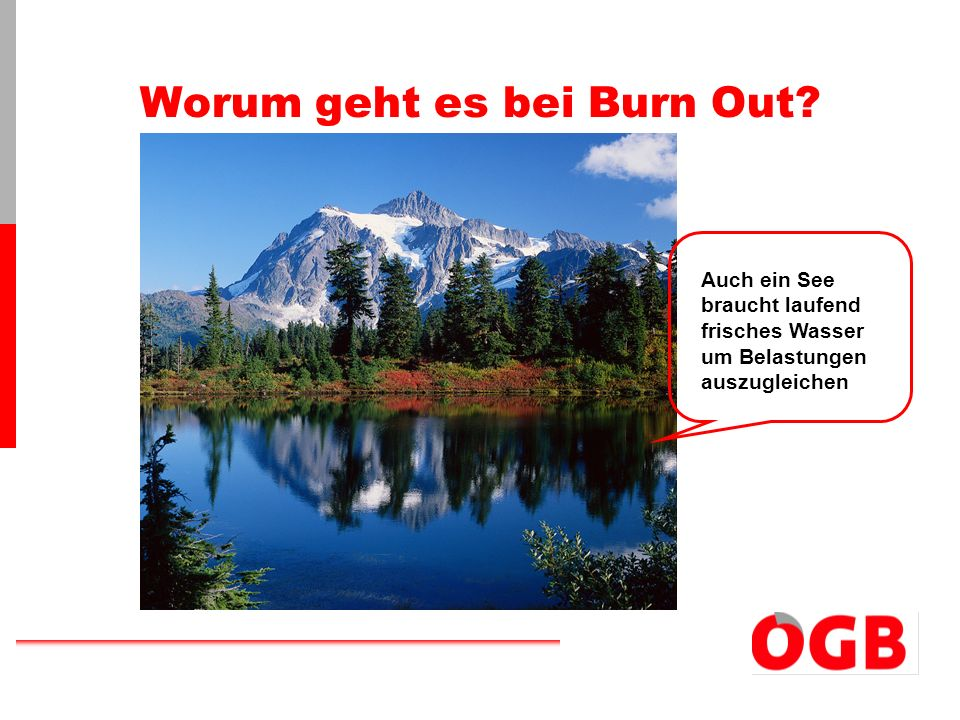 Worum geht es bei Burn Out