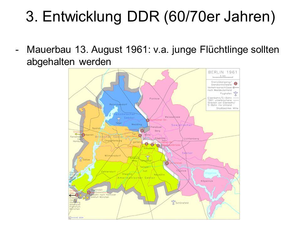 3. Entwicklung DDR (60/70er Jahren)