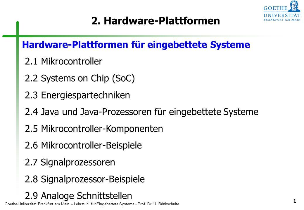 2. Hardware-Plattformen