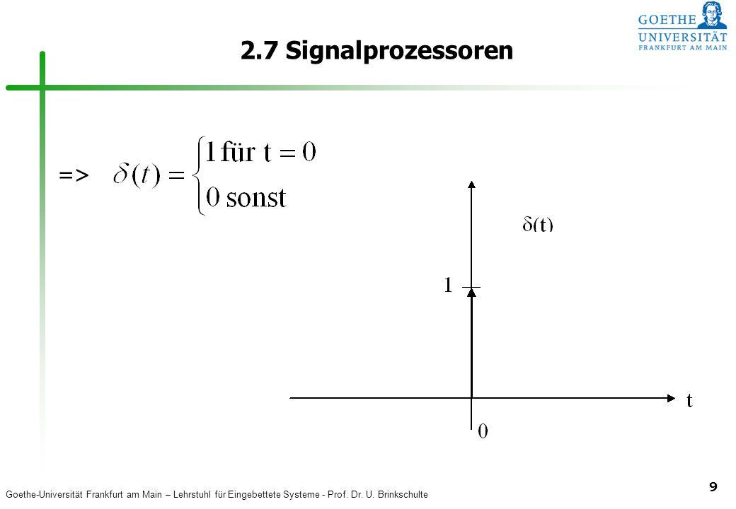 2.7 Signalprozessoren =>