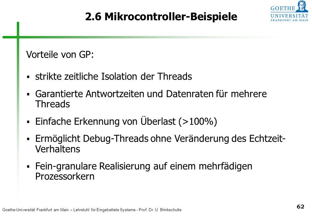 2.6 Mikrocontroller-Beispiele