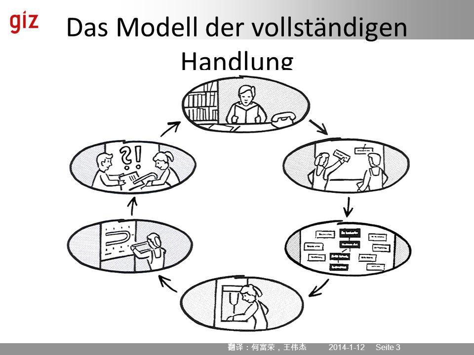 Das Modell der vollständigen Handlung
