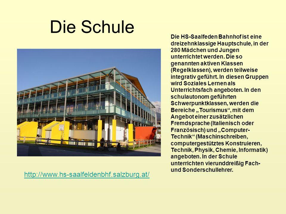 Die Schule http://www.hs-saalfeldenbhf.salzburg.at/