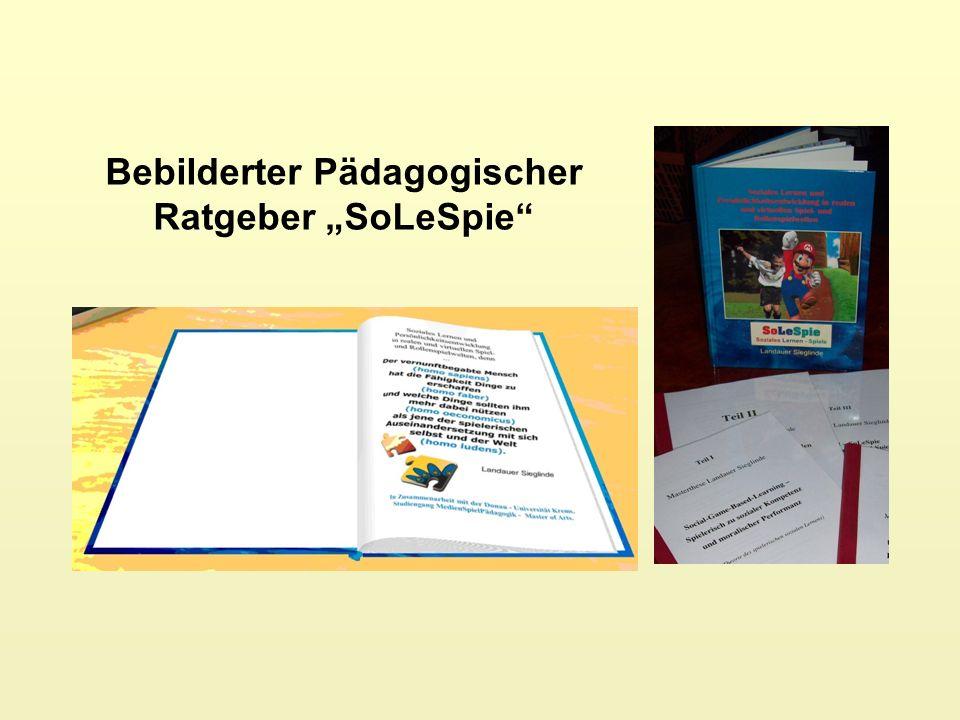 """Bebilderter Pädagogischer Ratgeber """"SoLeSpie"""