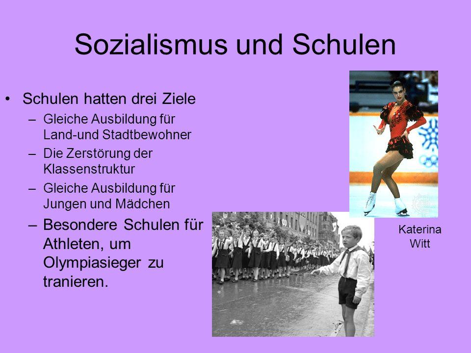 Sozialismus und Schulen