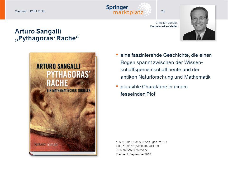 "Arturo Sangalli ""Pythagoras' Rache"