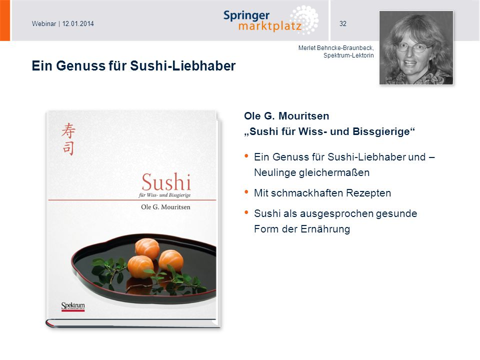 Ein Genuss für Sushi-Liebhaber