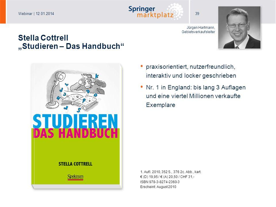 """Stella Cottrell """"Studieren – Das Handbuch"""