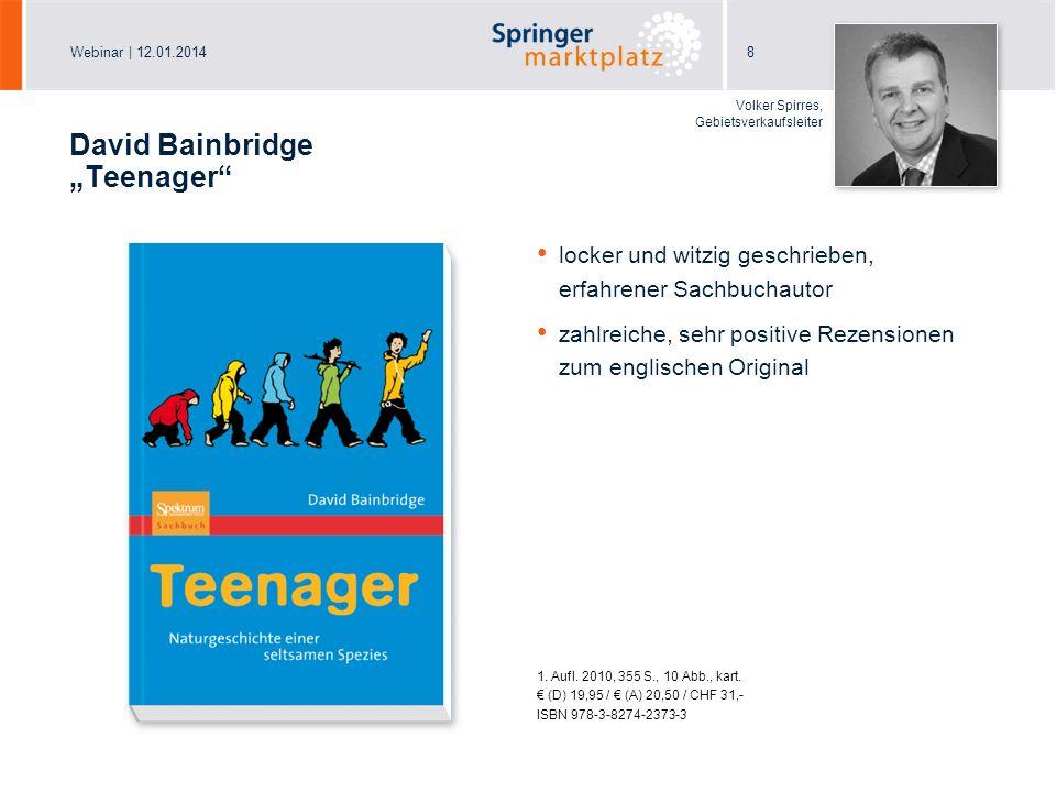 "David Bainbridge ""Teenager"
