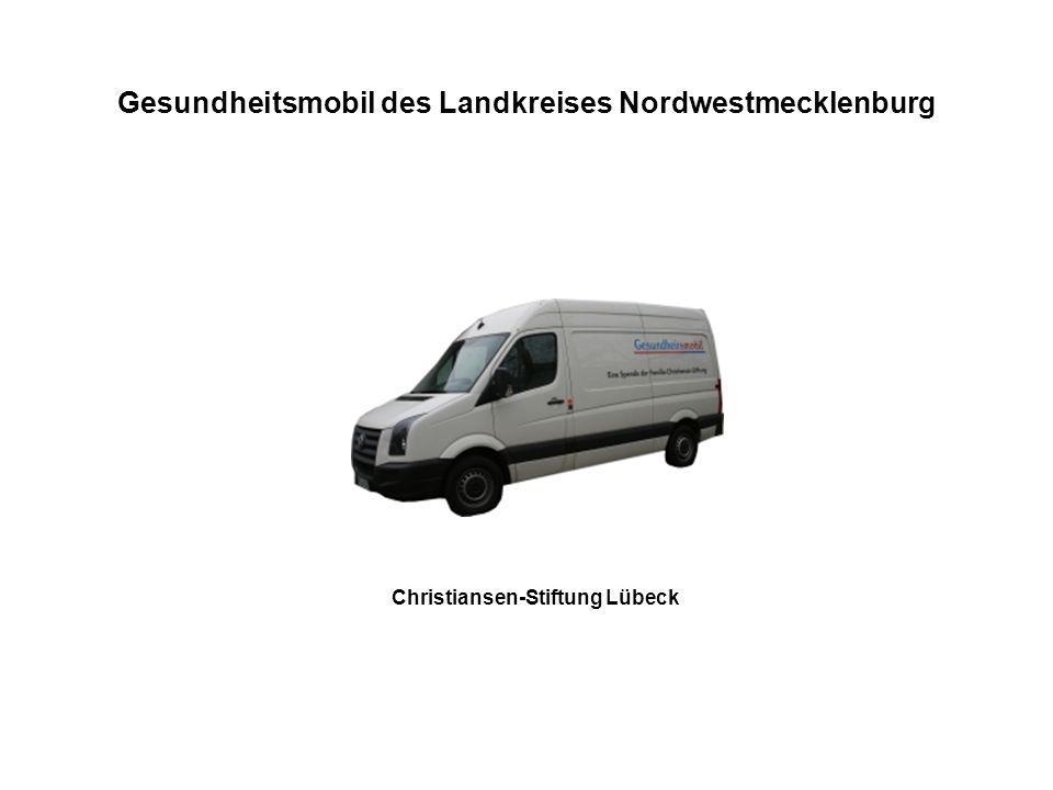 Gesundheitsmobil des Landkreises Nordwestmecklenburg