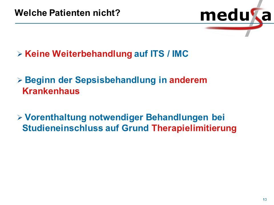 Welche Patienten nicht