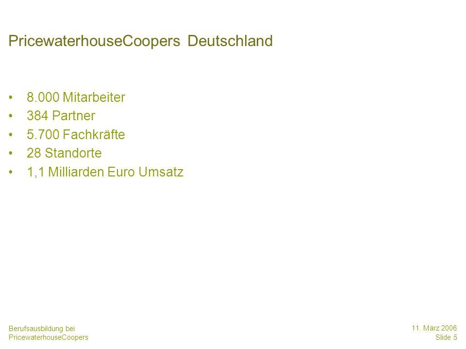 PricewaterhouseCoopers Deutschland