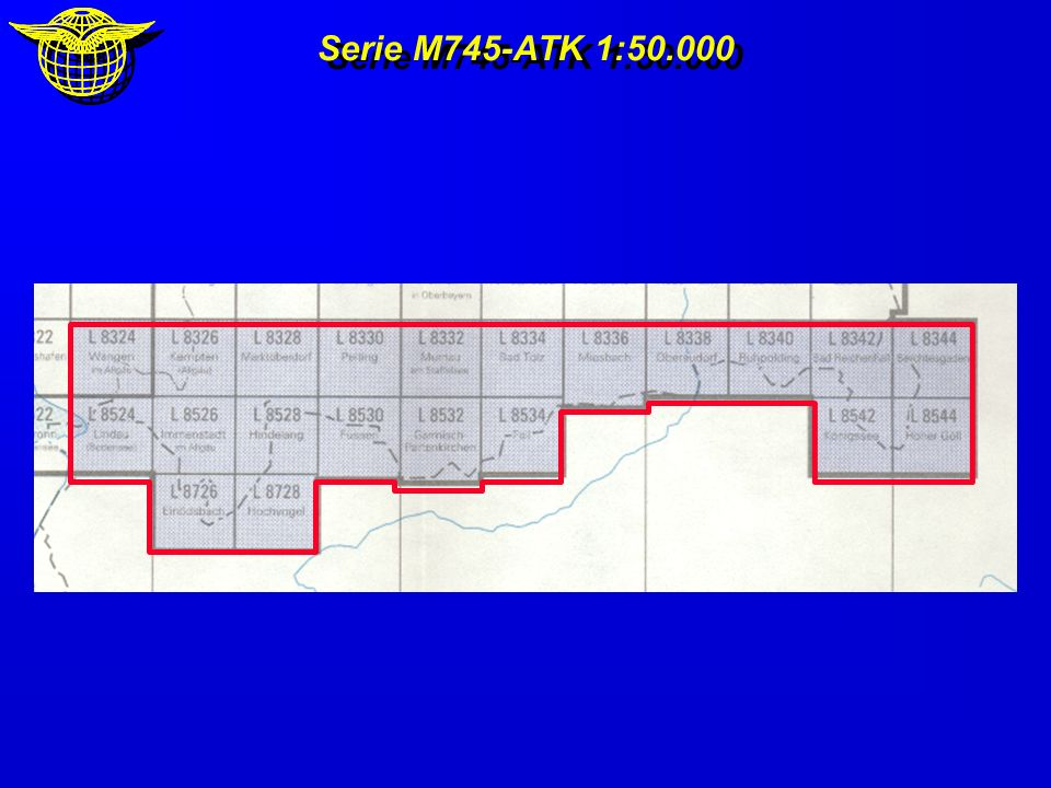 Serie M745-ATK 1:50.000