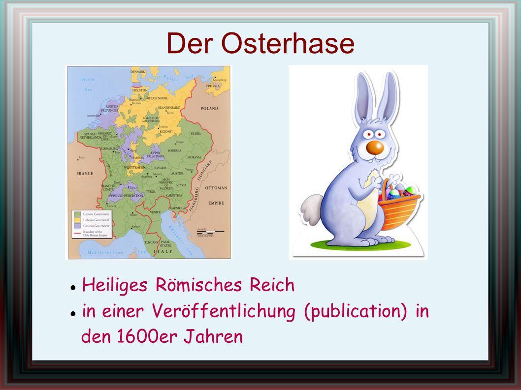 Der Osterhase Heiliges Römisches Reich