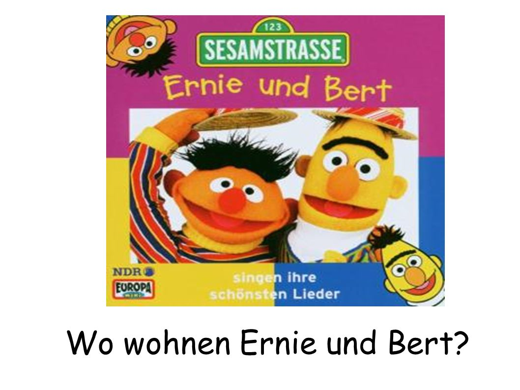 wo wohnen ernie und bert ppt herunterladen. Black Bedroom Furniture Sets. Home Design Ideas