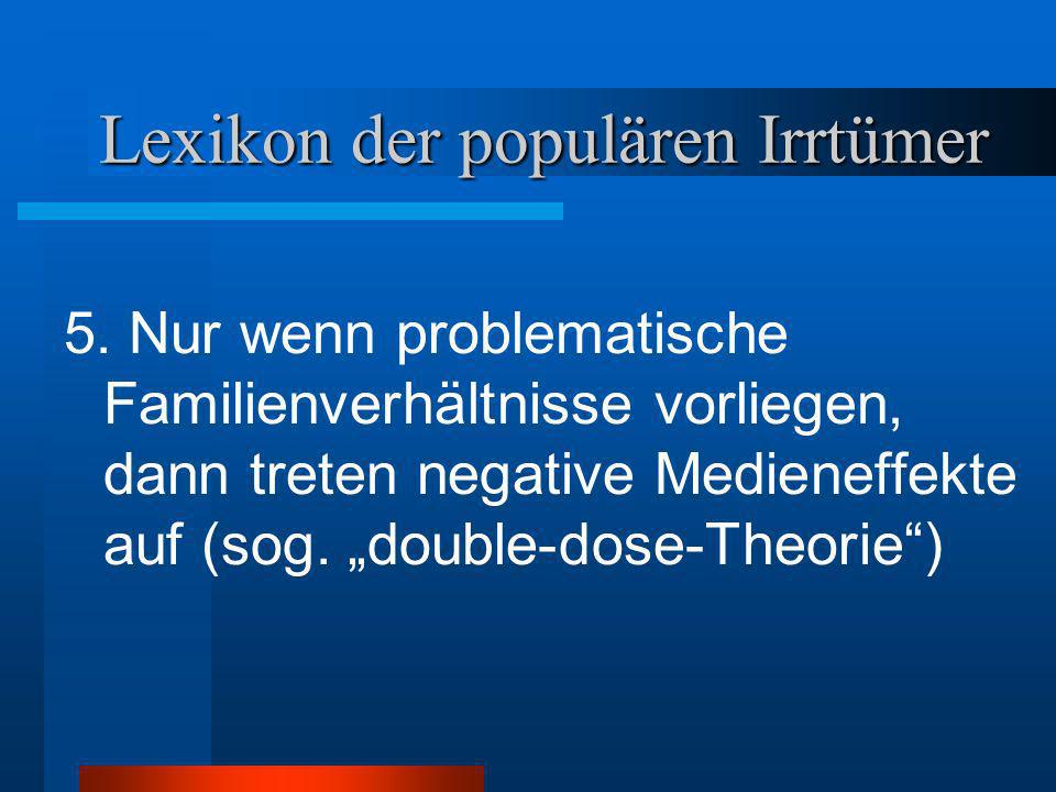 Lexikon der populären Irrtümer