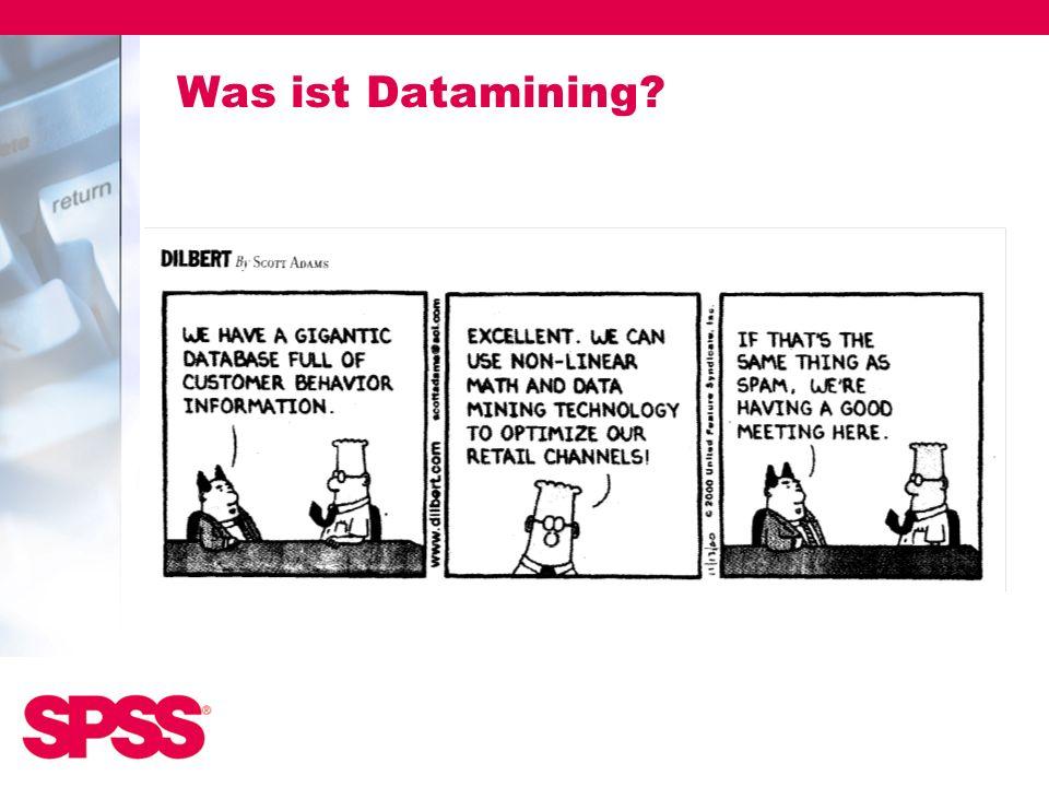 Was ist Datamining