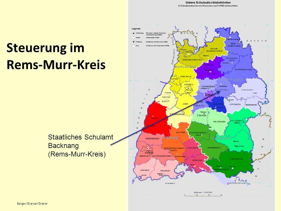 Steuerung im Rems-Murr-Kreis
