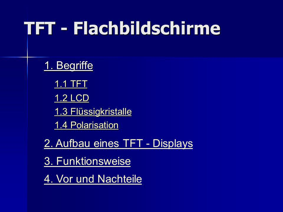 TFT - Flachbildschirme