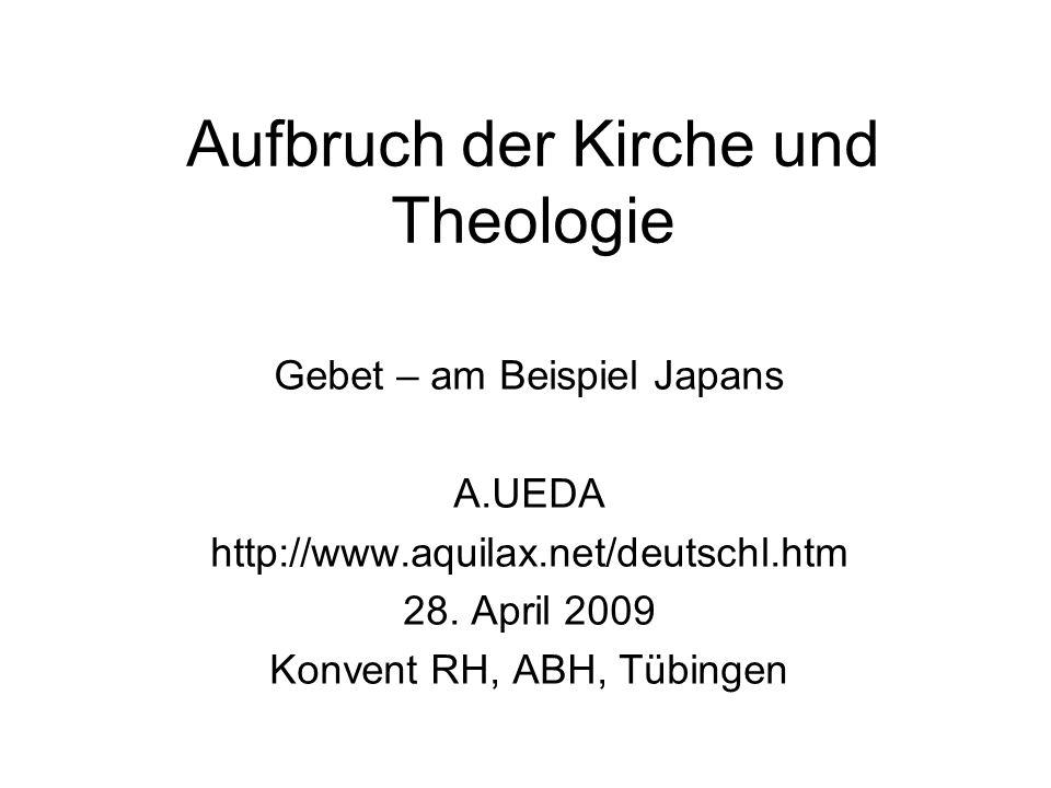Aufbruch der Kirche und Theologie