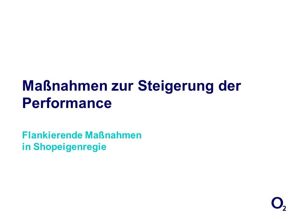 27/03/2017 17:01:29Maßnahmen zur Steigerung der Performance Flankierende Maßnahmen in Shopeigenregie.