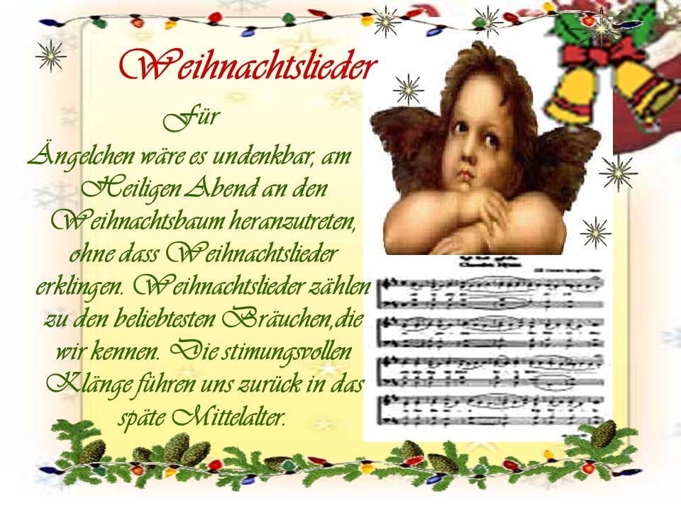 Weihnachtslieder Für.
