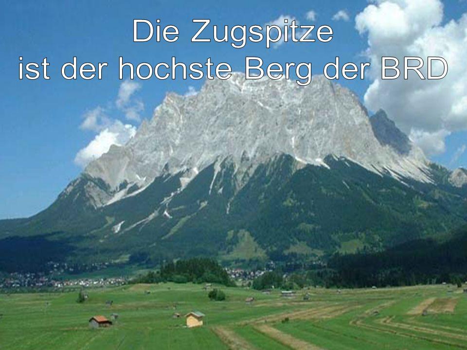 ist der hochste Berg der BRD
