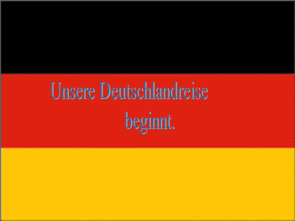 Unsere Deutschlandreise