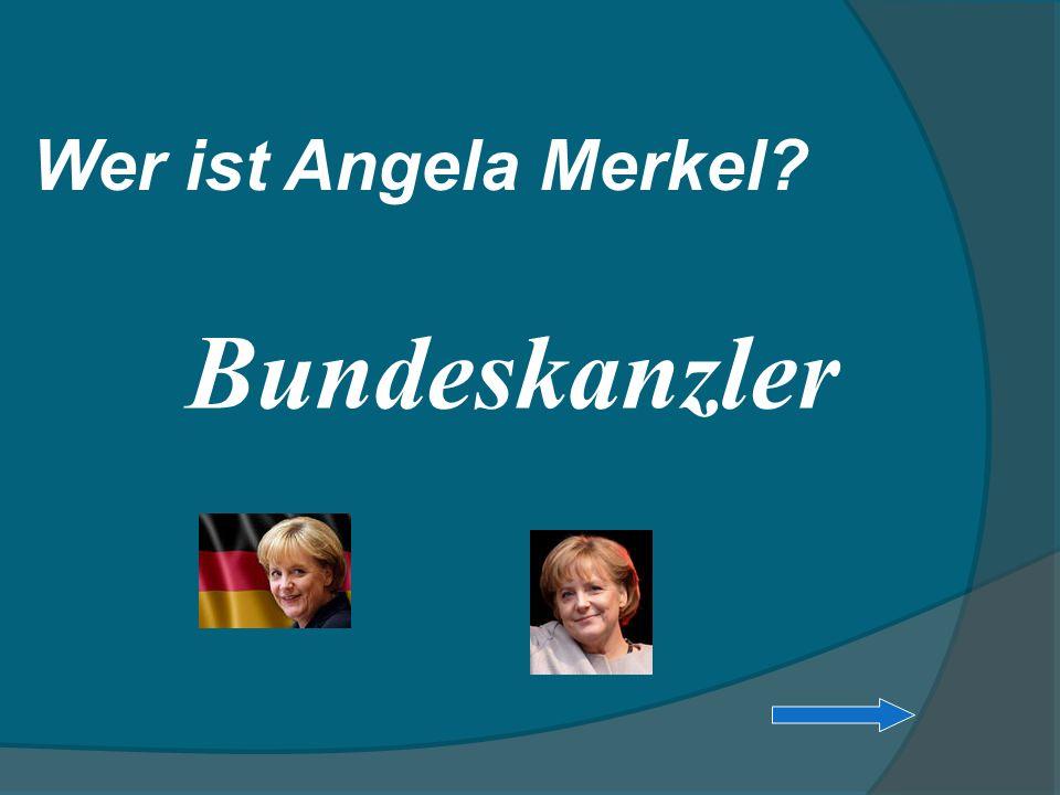 Bundeskanzler Wer ist Angela Merkel